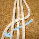 平四つ編み