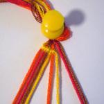 斜め編みミサンガ作り方1-5