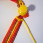 斜め編みミサンガ作り方1-7