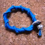 輪結びミサンガの作り方