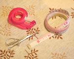 手作りミサンガの基本道具