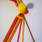 斜め編みミサンガ作り方1-6