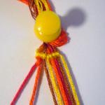 斜め編みミサンガ作り方2-1