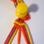 斜め編みミサンガ作り方2-3