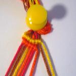 斜め編みミサンガ作り方2-5
