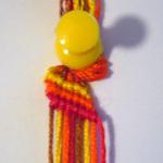 斜め編みミサンガ作り方3